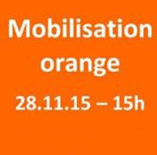 GE | Contre la violence conjugale, mobilisation orange