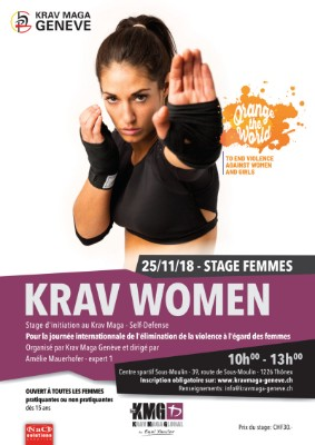 GE | Stage Femme – Initiation au Krav Maga – Self-Defense
